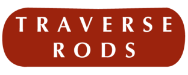 Drapery traverse logo